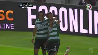 Resumo Feirense 2-3 Sporting (Liga 5ªJ)