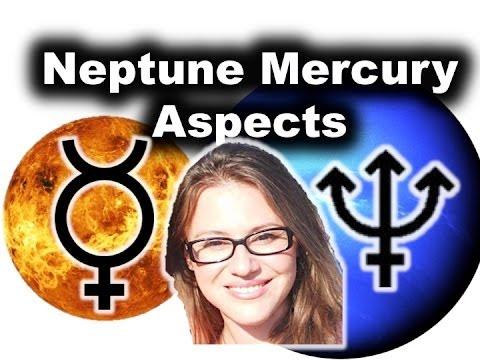 Neptune Aspect Mercury in Astrology