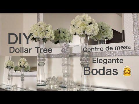 Dollar Tree 🌲DIY centerpiece centro de mesa elegante para el hogar o fiestas