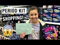 Don't forget to subscribe! http://www.youtube.com/theweisslife In today's family vlog - Gabrielle & Mom go shopping for some supplies for a new period kit for Gabrielle to take to middle school....