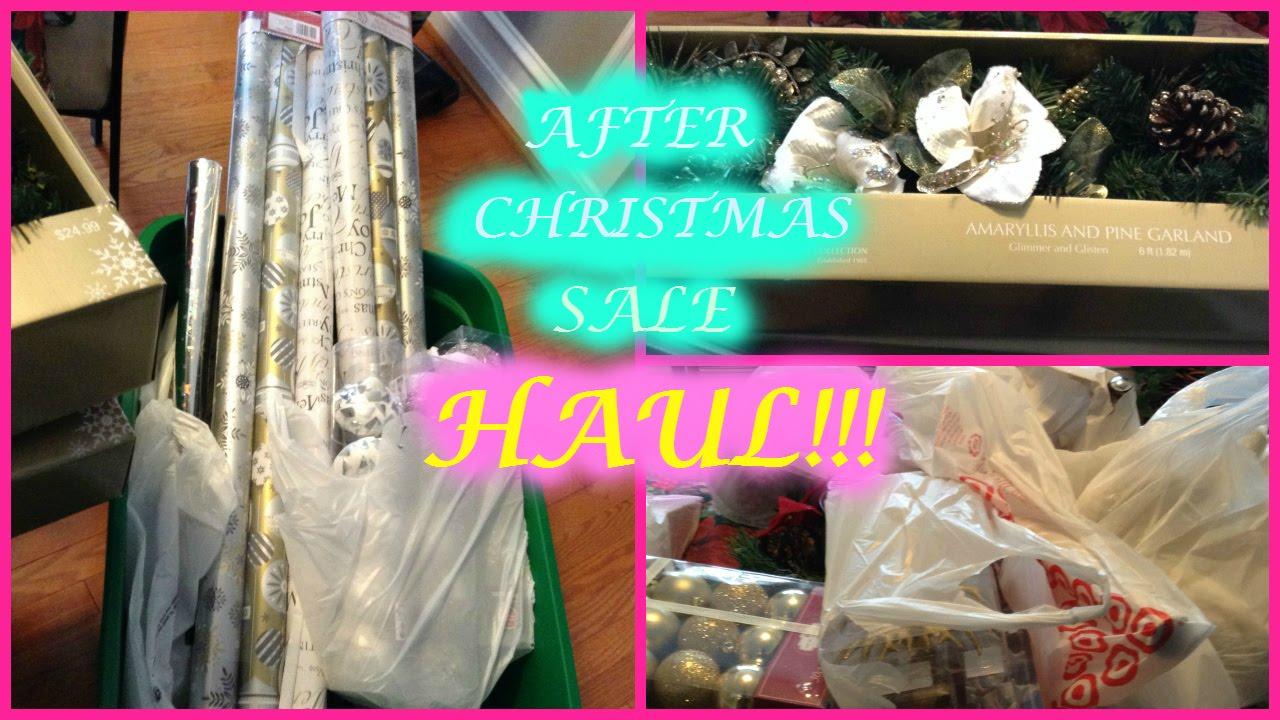 After Christmas Sale Haul!! (Target, Walmart, Kmart & Big Lots ...