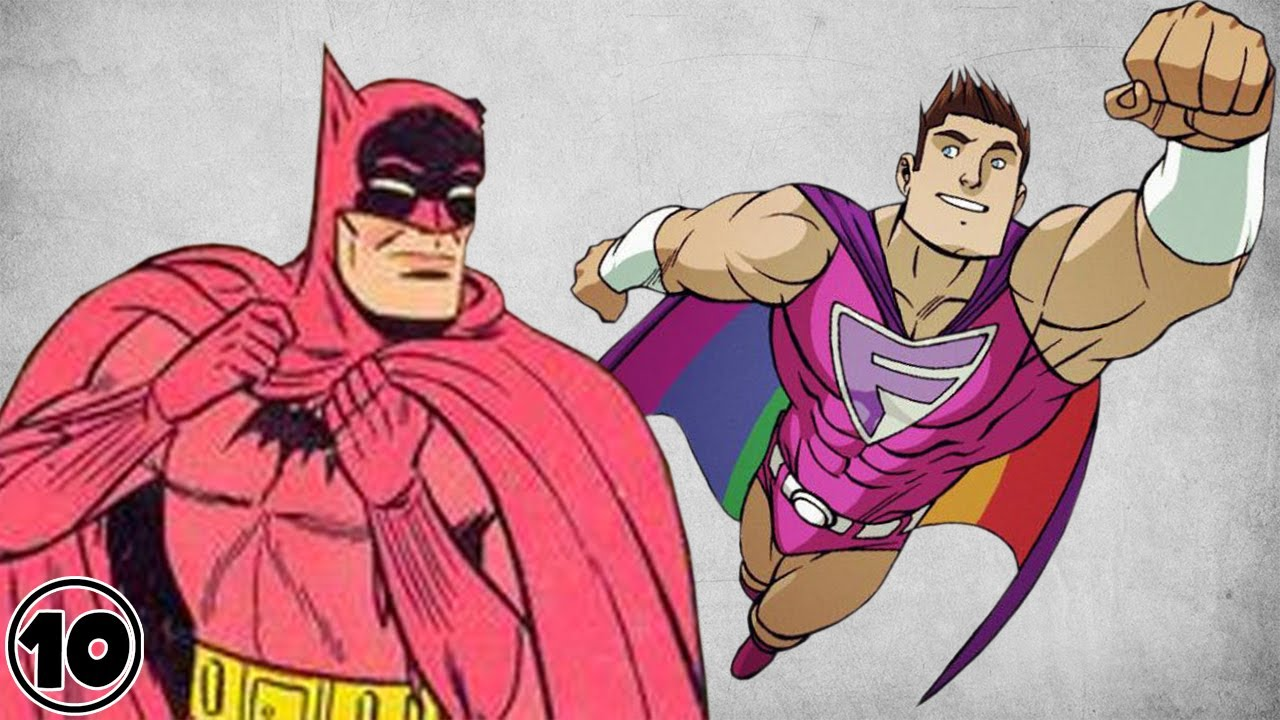 superhero cartoon video Gay