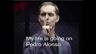 My life is going on - Pedro Alonso - La Casa de Papel season 3