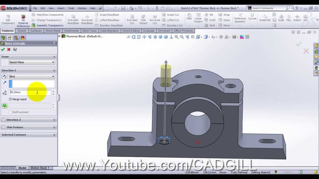 how to add bolts solidworks
