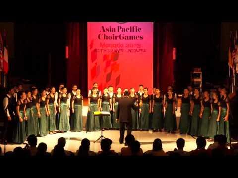 The Unklab Choir-Asia Pasific Choir Games 2013