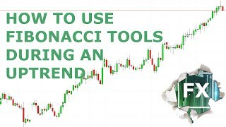 Uptrend: How to trade using the Fibonacci retracement and extension tools