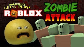 Roblox: ZOMBIE ATTACK! [Grapefruit spielt]