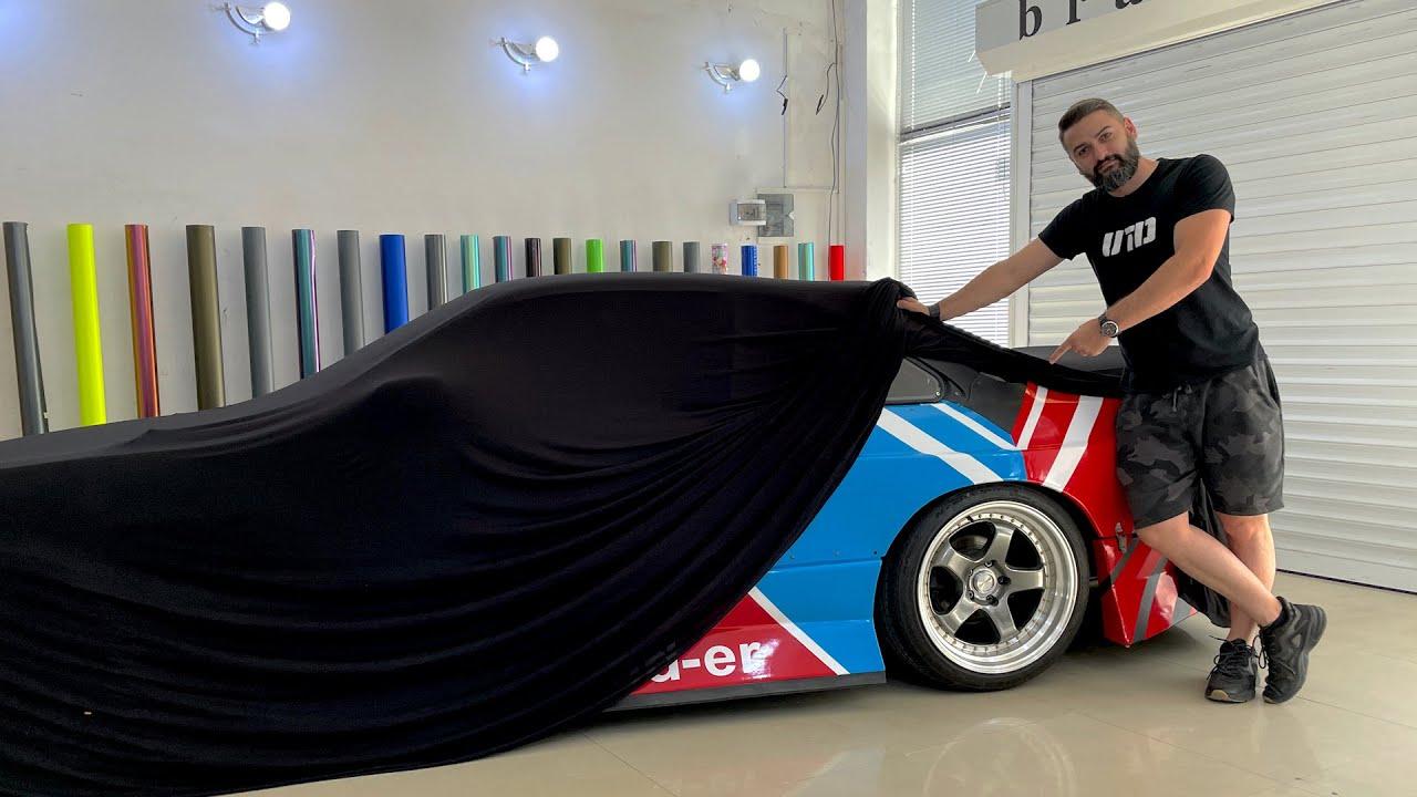 LS Drift Silvia – ს დასრულებული სახე და პირველი გავლა!