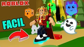 SO THE EASY AND FAST FLYING PATINETA IS ACHIEVED ROBLOX GHOST SIMULATOR