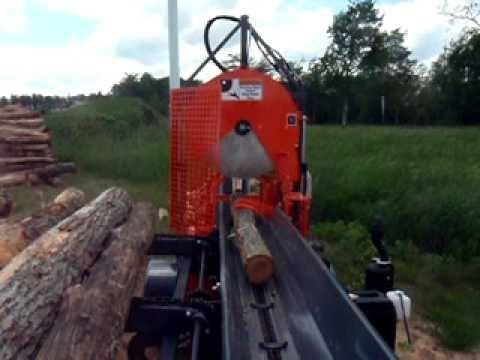 circular saw blade firewood processor 2