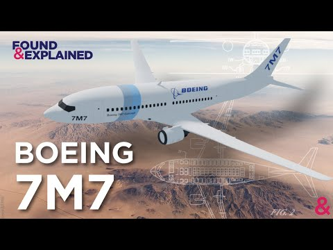 The Boeing 7M7 - The Proposed Future Boeing Aircraft To Replace The 737 MAX and 797 | Never Built
