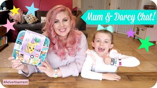 Mummy Daughter Interview & Playtime!! | LOUISE PENTLAND | LEGO DOTS