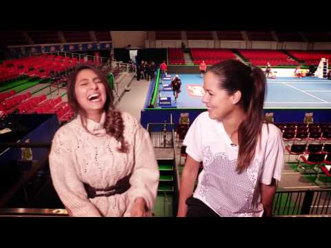 Up, Close and Personal with Ana Ivanovic
