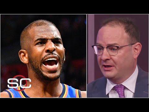 The Suns are trading for Chris Paul - Woj   SportsCenter
