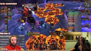 Bajheera & Jenny - GUL' DAN GOES DOWN! [SPOILERS] - WoW 7.1.5 Fury Warrior DPS
