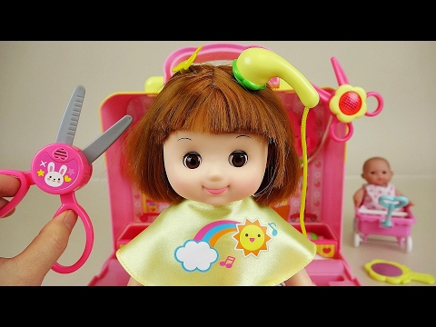 Thumbnail: Baby doll hair shop toys play with Pororo
