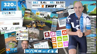 How to Start Riḋing on Zwift: The First Ride // New User Tutorial