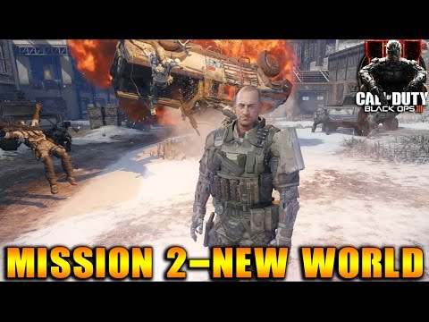Call of Duty: Black Ops 3 - Campaign Mission 2: New World Gameplay Walkthrough
