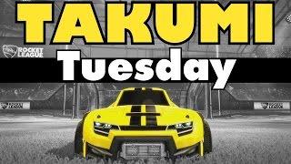 Rocket League | Takumi Tuesday | Funny Freestyles!