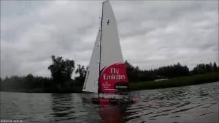 etnz 1 meter america s cup racing yacht