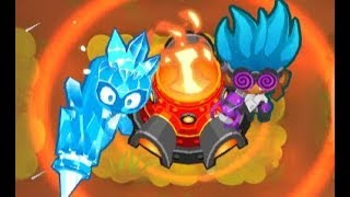 Bloons TD 6 - CHIMPS - Logs - Easy Strategy