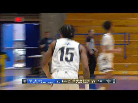 Mount Men's Basketball Game Highlights Vs. Long Island On CBS Sports Network