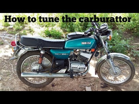 How to tune the Yamaha RX100 carburattor