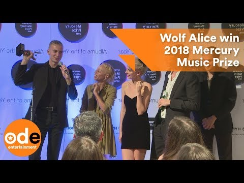 Wolf Alice win 2018 Mercury Music Prize
