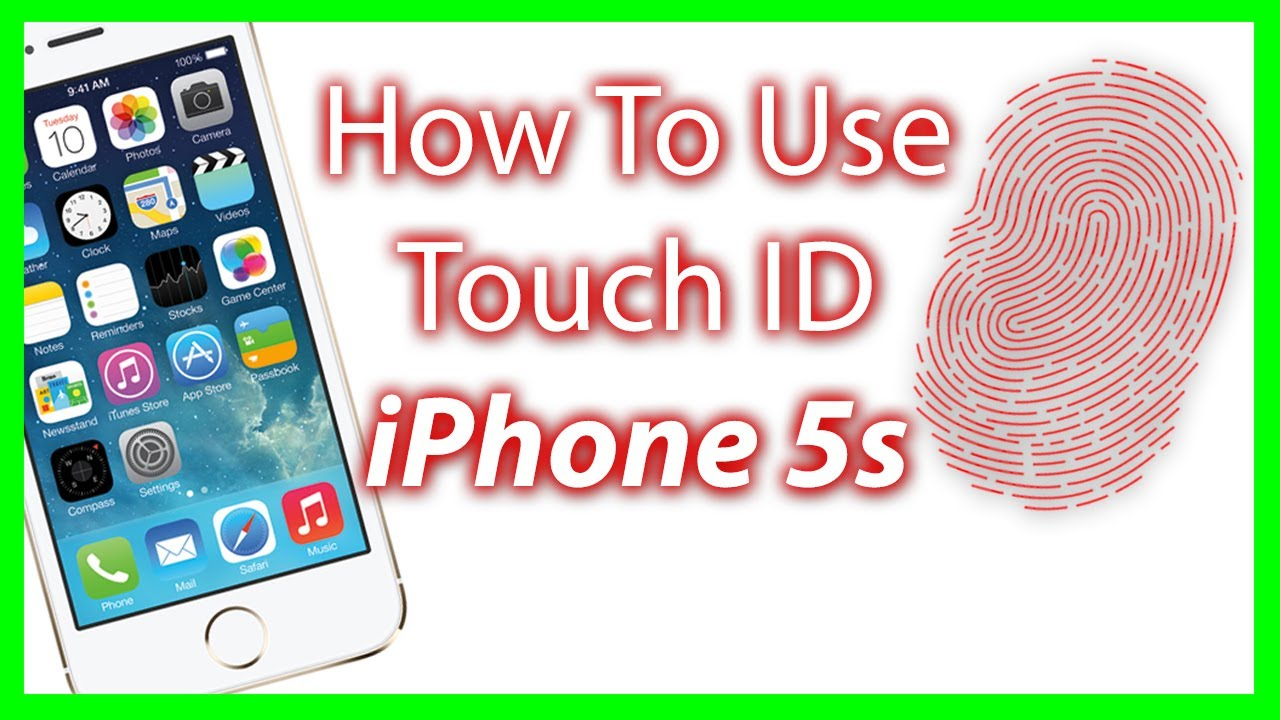 iphone printer settings how to use touch id on the iphone 5s and setup the finger 12160