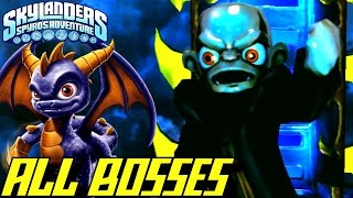 Skylanders Spyro's Adventure - ALL BOSSES