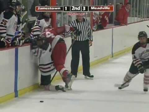 Armstrong Local Programming: Meadville vs Jamestown High School Hockey
