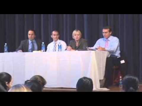 3rd Annual Finance Conference: Banking and Regulation Panel and Wealth Management Panel.