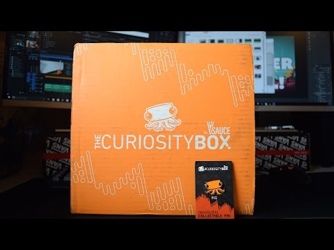 VSAUCE -Curiosity Box Unboxing! | Fun Science!