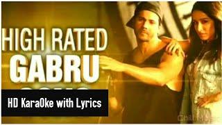 Nawabzaade:High Rated Gabru HD KaraOke with Lyrics