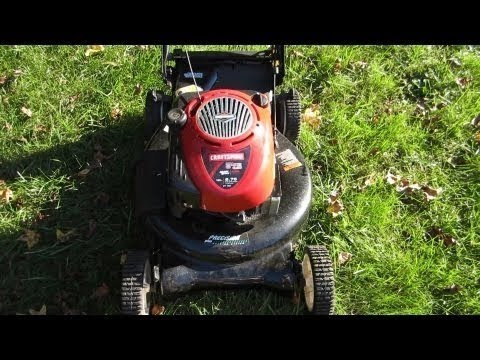 Sears Craftsman $30 Lawn Mower on Craigslist - What a deal