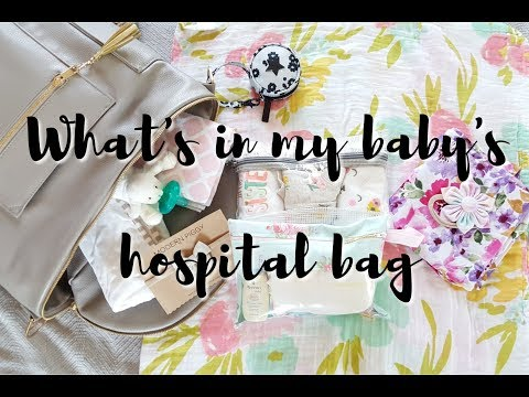 WHAT'S IN MY BABY'S HOSPITAL BAG! ♡