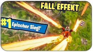 METEOR STURZ 🔥 NEUER FALL EFFEKT - SEASON 3 BATTLE PASS | Fortnite Deutsch German