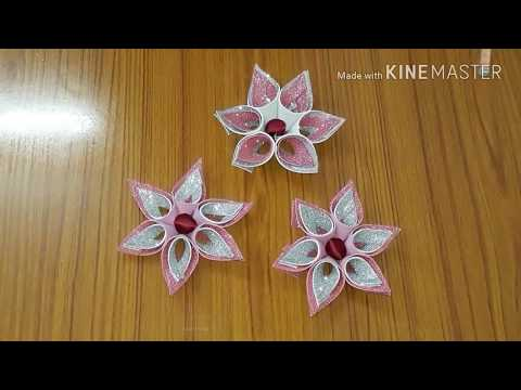 Learn To Make Unique Flowers For Wall Decoration In Most