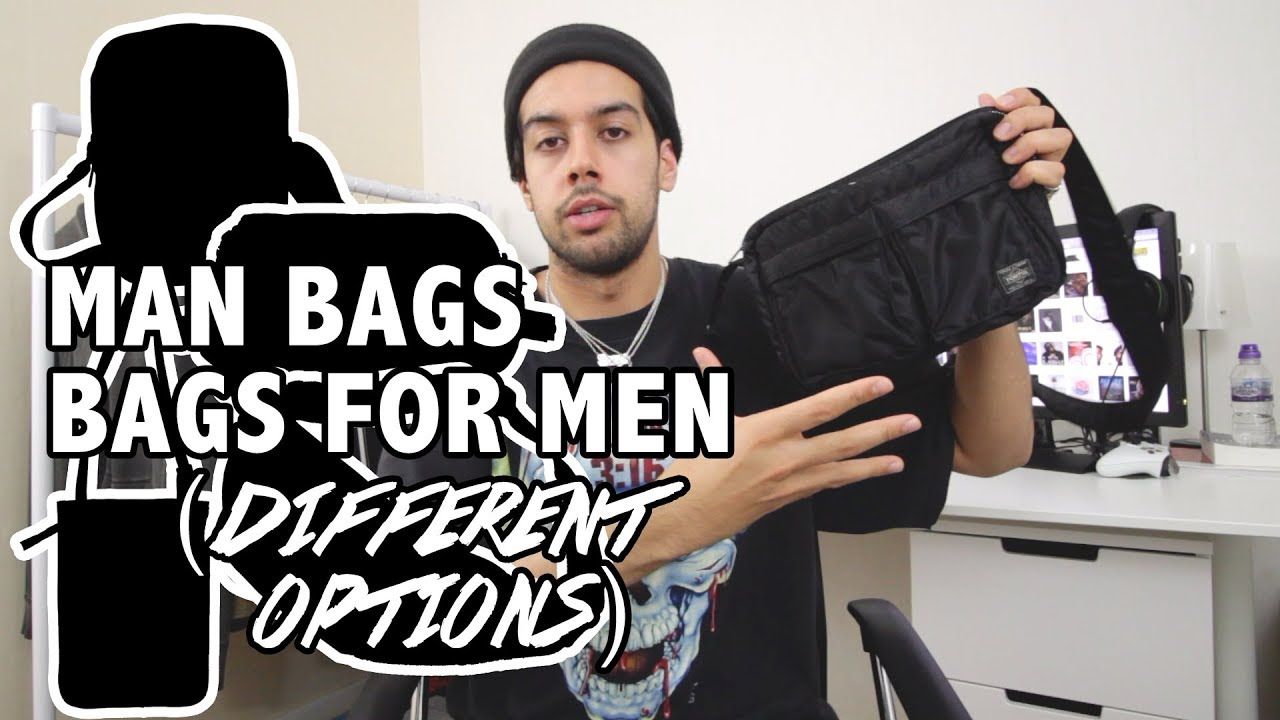 6779a1d632935 Let's Talk About Bags for Men (Sidebags, Porter Tanker Shoulder Bag, Men's  Streetwear & Fashion)