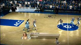 NCAA Basketball 09 Features