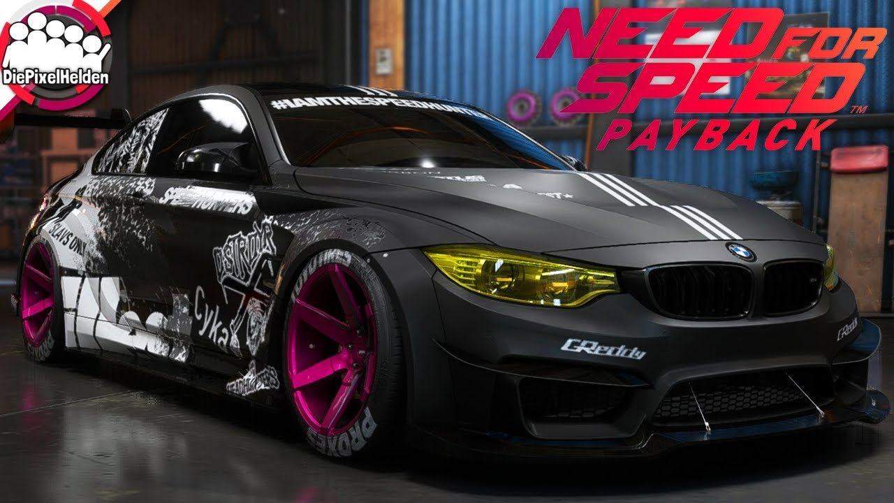 Need For Speed Payback Bmw M4 Gts Racerbuild Nfs
