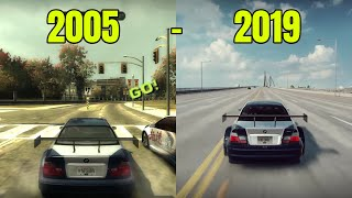 History Of The Need For Speed BMW M3 GTR | 2005 - 2019 | NEED FOR SPEED HISTORY
