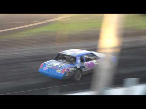 Stock Car Heat 1 @ Hancock County Speedway 06/09/17