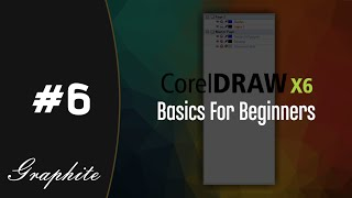 How to use layers. Corel Draw X6 Tutorial