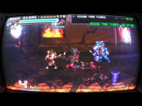 Fight'N Rage - first time playing (hard) [HD] |