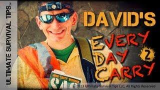 DIY - My Travel / TSA Survival Kit  - David's Every Day Carry #2