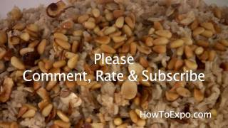 Easy Rice Pilaf Recipe (aromatic Rice Pilaf Part 2 Of 2)