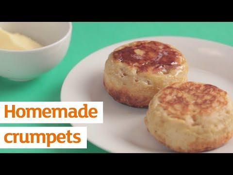 Homemade crumpets | Recipe | Sainsbury's