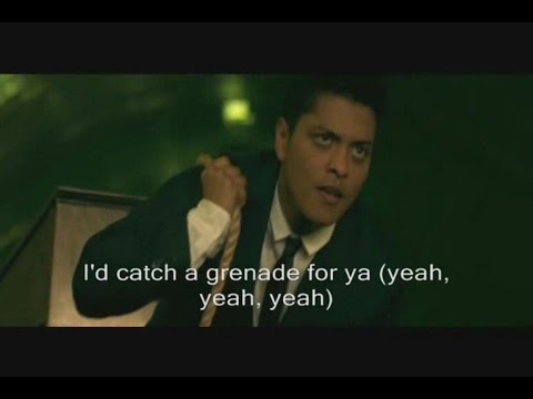 Bruno Mars - Grenade  Lyrics