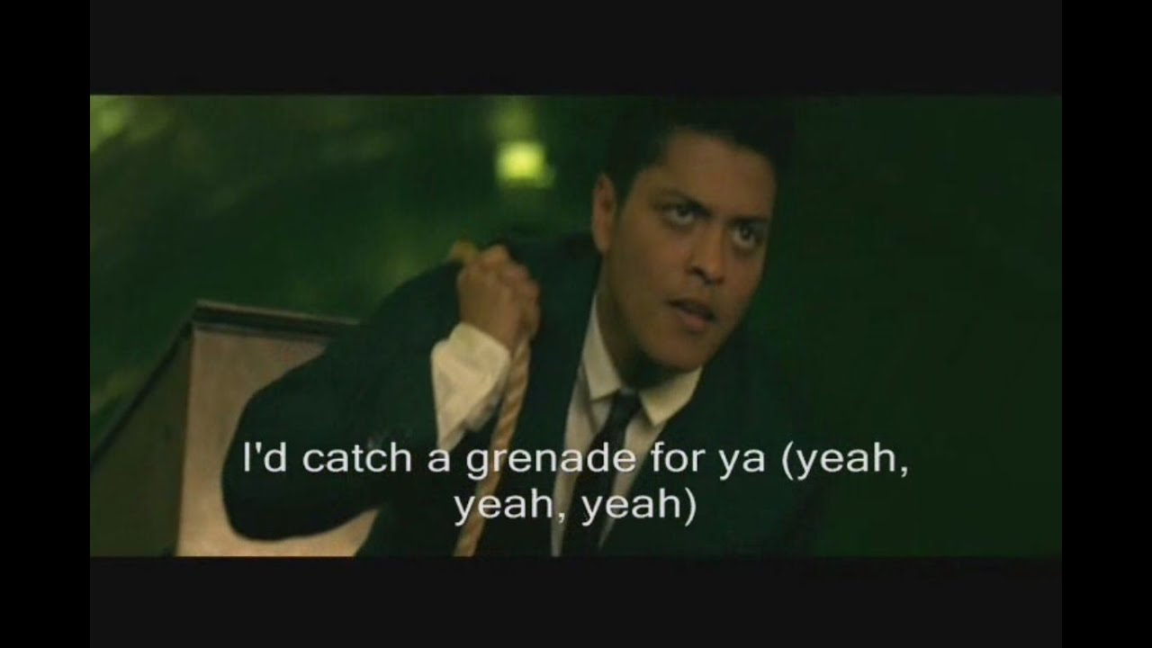 bruno mars grenade official video lyrics youtube. Black Bedroom Furniture Sets. Home Design Ideas
